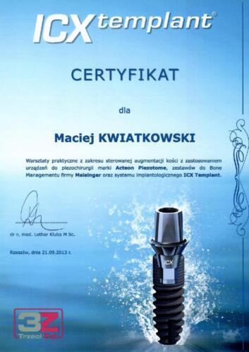 Prima-Dent Certyfikat-Maciej21