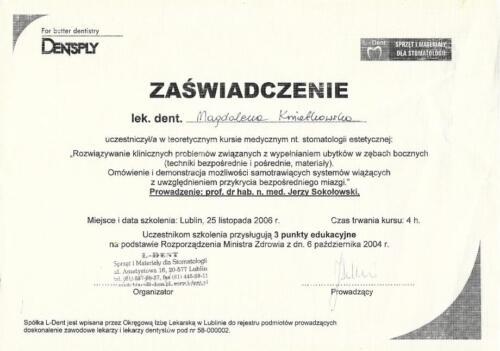 Prima-Dent Certyfikat-Magda-Endodoncja01