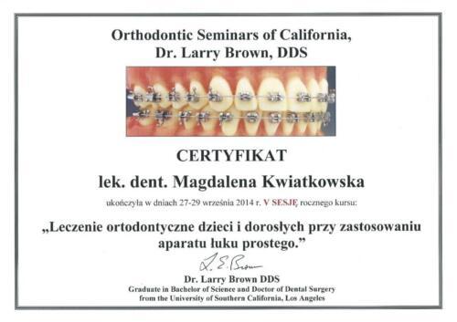 Prima-Dent Certyfikat-Magdalena32