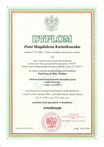 Prima-Dent Certyfikat-Magdalena37