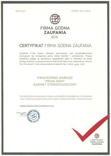 Prima-Dent Certyfikat-Mariusz03